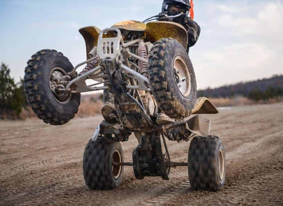 Learn how to Wheelie an ATV in 4 Simple Steps