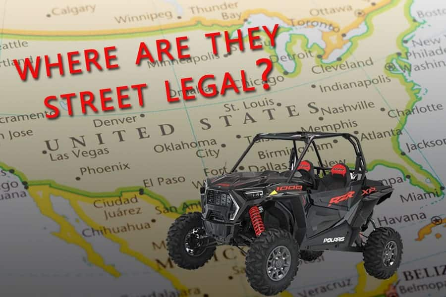 How To Make A UTV Or ATV Street Legal (With All 50 States Laws)