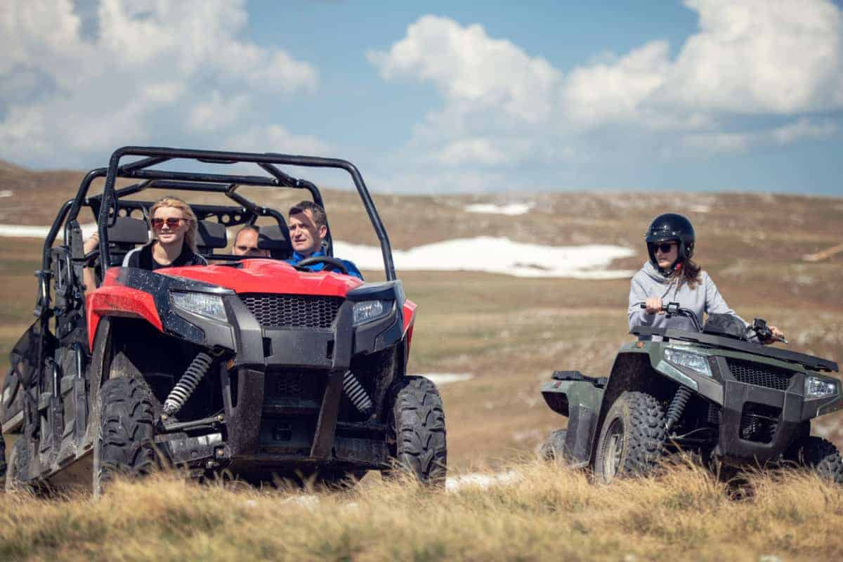 What Is A UTV And What Is The Difference From An ATV?