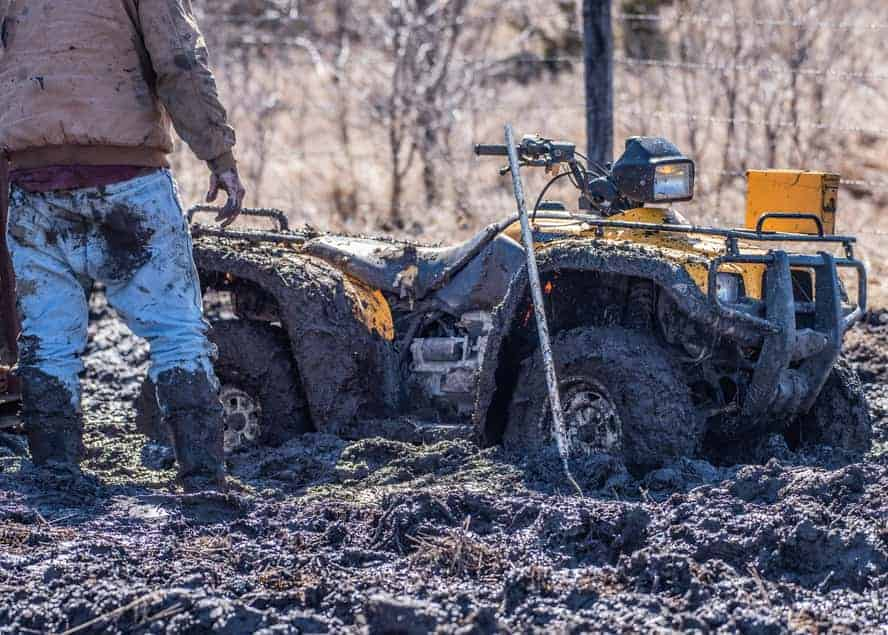How To Get An ATV Unstuck (With And Without A Winch)